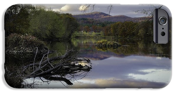 Androscoggin iPhone Cases - The Androscoggin iPhone Case by Lisa Bryant