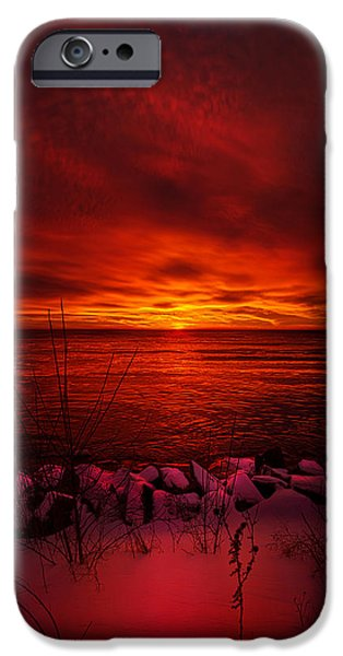 Chicago iPhone Cases - The Angels Have a Better View iPhone Case by Phil Koch