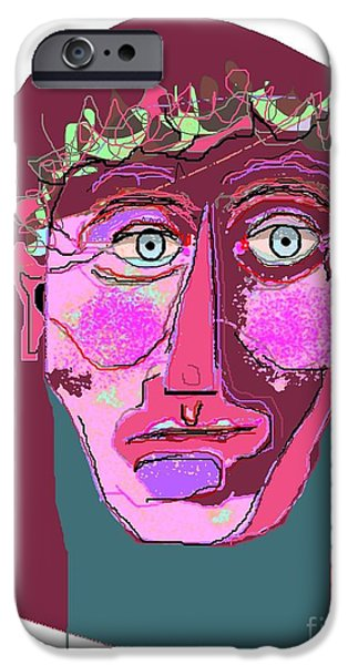 The Anointed One iPhone Case by Lawrence Nusbaum