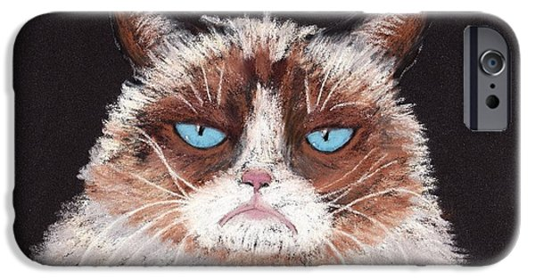 Large iPhone Cases - The Answer is No iPhone Case by Anastasiya Malakhova
