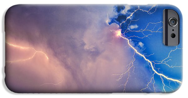 Zeus iPhone Cases - The Arrival of Zeus iPhone Case by Jonathan Davison