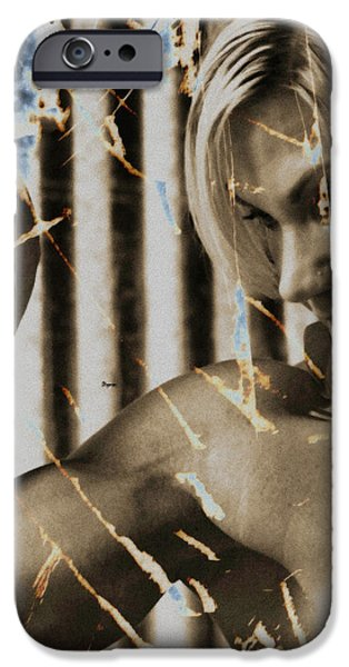The Art of Beauty  iPhone Case by Steven  Digman