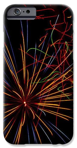 The Art of Fireworks  iPhone Case by Saija  Lehtonen