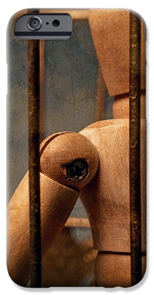 Penitentiary iPhone Cases - The Artist iPhone Case by Jeff  Gettis