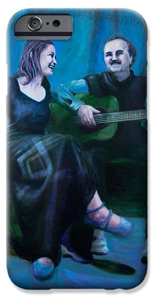 The Artists iPhone Case by Shelley  Irish