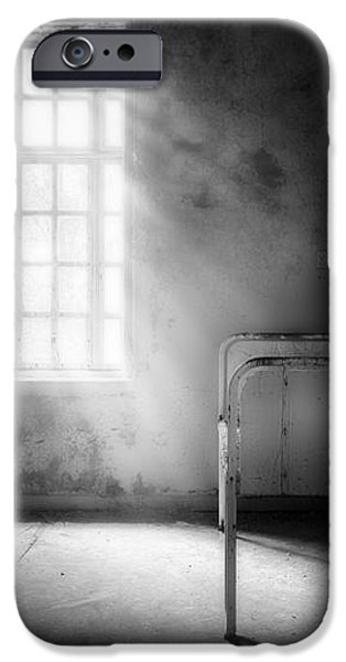 The Asylum Project - Empty Bed iPhone Case by Erik Brede