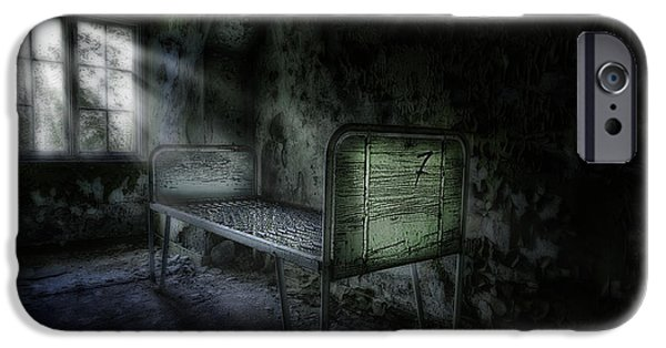 Creepy iPhone Cases - The Asylum Project - Seven iPhone Case by Erik Brede