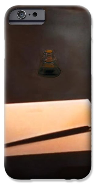 The Author iPhone Case by Michael Rucker