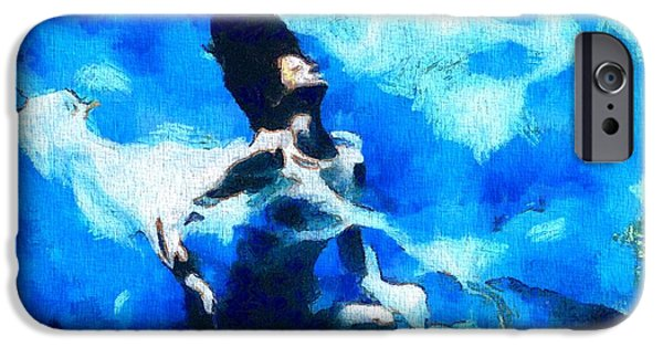 Conscious Paintings iPhone Cases - The Awakening iPhone Case by Dan Sproul