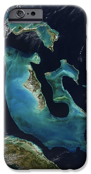 Nature Abstract iPhone Cases - The Bahamas iPhone Case by Adam Romanowicz