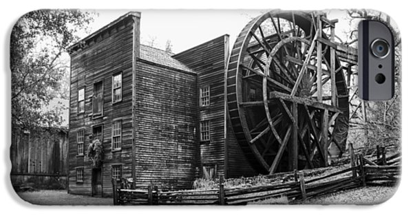 Grist Mill iPhone Cases - The Bale Grist Mill iPhone Case by Mountain Dreams