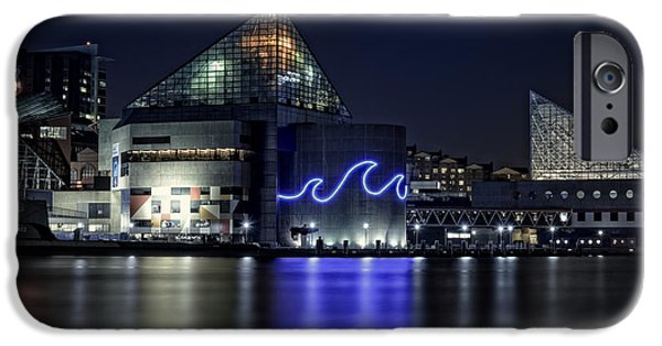 Chesapeake Bay iPhone Cases - The Baltimore Aquarium iPhone Case by Rick Berk