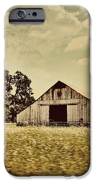 The Barn 2 iPhone Case by Cheryl Young