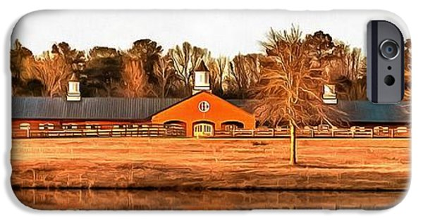 The Horse iPhone Cases - The Barn iPhone Case by CarolLMiller Photography