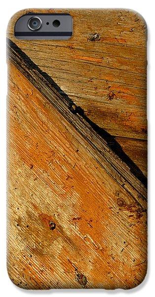 The Barn Door iPhone Case by William Jobes