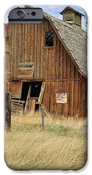 the Barn  iPhone Case by Fran Riley