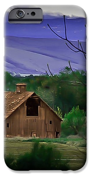 The Barn iPhone Case by Robert Bales