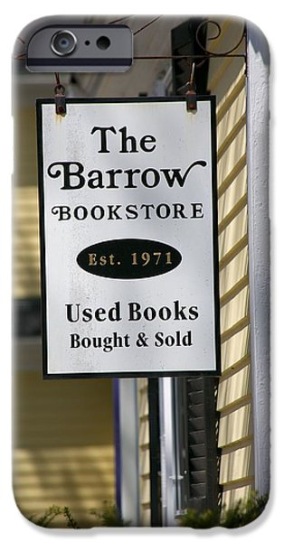 Concord Massachusetts iPhone Cases - The Barrow iPhone Case by Allan Morrison