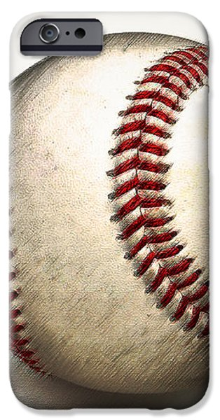 The Baseball iPhone Case by Bill Cannon