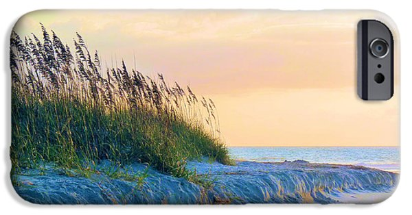 Beaches iPhone Cases - The Basket iPhone Case by JC Findley