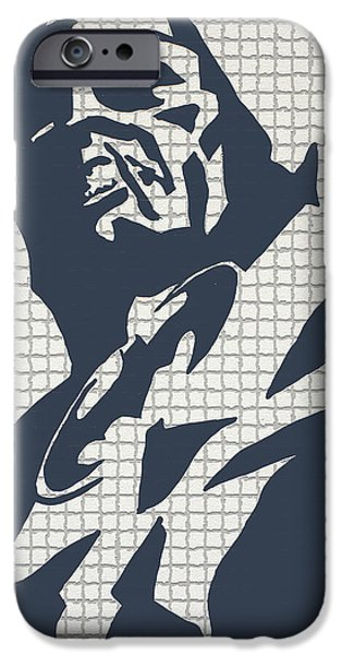 the bat call iPhone Case by Robert Margetts