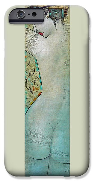 Albena iPhone Cases - The Bath iPhone Case by Albena Vatcheva