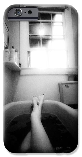 Bathroom iPhone Cases - The Bath iPhone Case by Lindsay Garrett