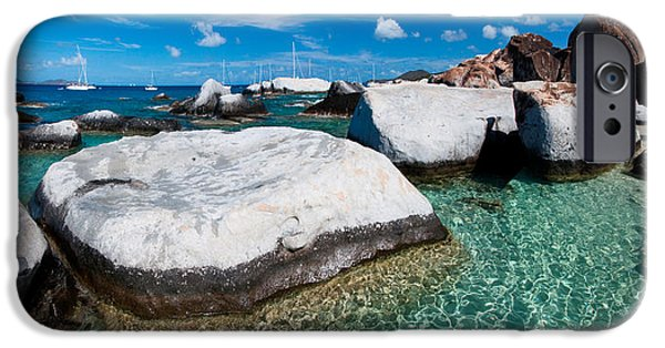 St Photographs iPhone Cases - The Baths iPhone Case by Adam Romanowicz
