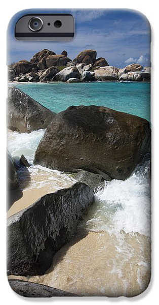 Nature Study iPhone Cases - The Baths - Devils Bay iPhone Case by Adam Romanowicz