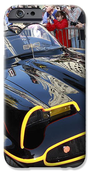 The Batmobile iPhone Case by Nina Prommer