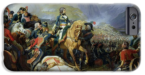 Campaign iPhone Cases - The Battle Of Rivoli, 1844 Oil On Canvas See Also 176686 iPhone Case by Felix Philippoteaux