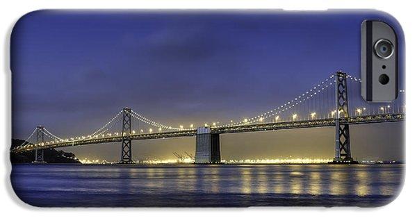 Bay Bridge iPhone Cases - The Bay Bridge iPhone Case by Scott Norris