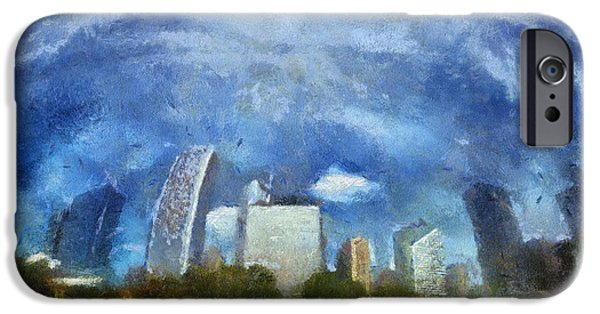 Facade iPhone Cases - The Bean North Reflection Photo Art 02 iPhone Case by Thomas Woolworth