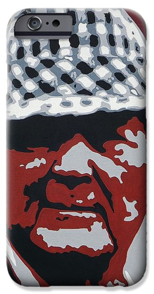 Bear Bryant iPhone Cases - The Bear iPhone Case by Steve Cochran