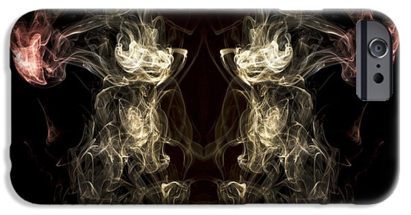 Smoke iPhone Cases - The Beast iPhone Case by Edward Fielding