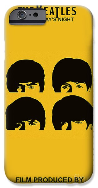 Beatles iPhone Cases - The Beatles A Hard Days Night iPhone Case by Marvin Blaine