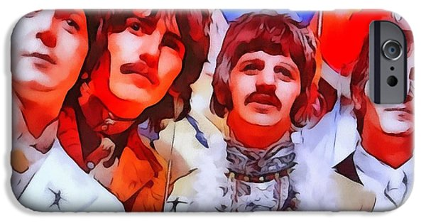 Abbey Road iPhone Cases - The Beatles iPhone Case by Dan Sproul