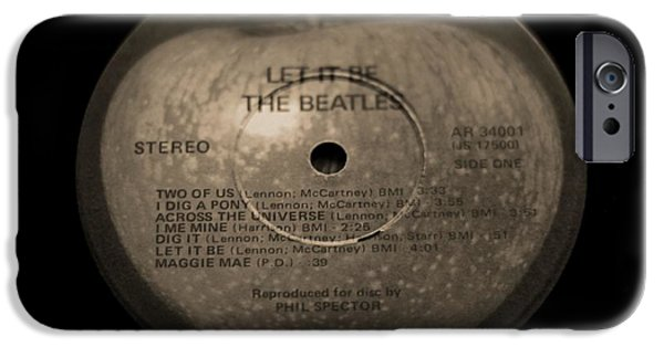 Abbey Road iPhone Cases - The Beatles Let It Be iPhone Case by Dan Sproul
