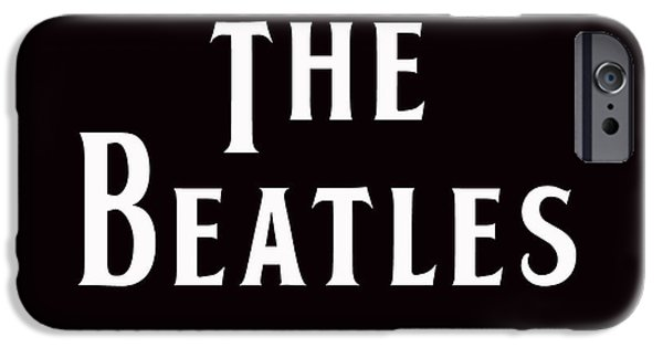 Beatles iPhone Cases - The Beatles iPhone Case by Marvin Blaine