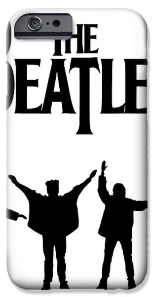 The Beatles No.06 iPhone Case by Caio Caldas
