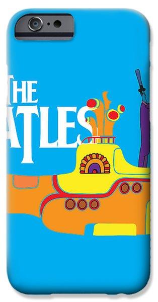 The Beatles No.11 iPhone Case by Caio Caldas