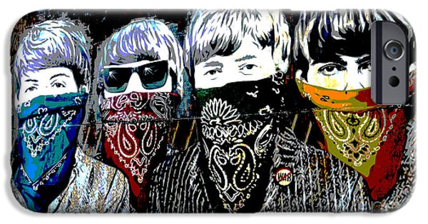 Beatles iPhone Cases - The Beatles iPhone Case by RicardMN Photography