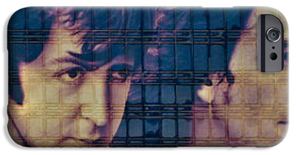 Beatles iPhone Cases - The Beatles iPhone Case by Steve Purifoy