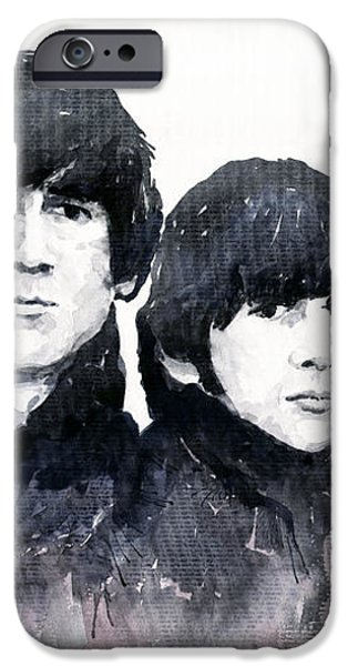 The Beatles iPhone Case by Yuriy  Shevchuk
