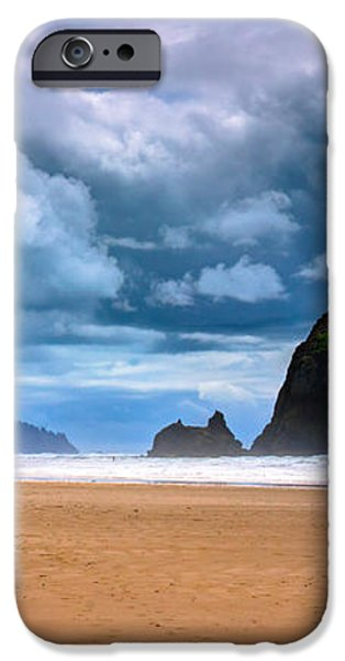 The Beautiful Cannon Beach iPhone Case by David Patterson