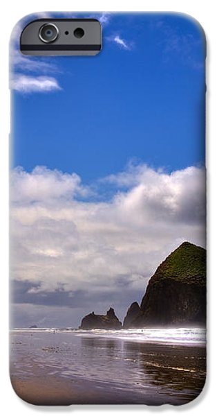 The Beautiful Cannon Beach Oregon iPhone Case by David Patterson