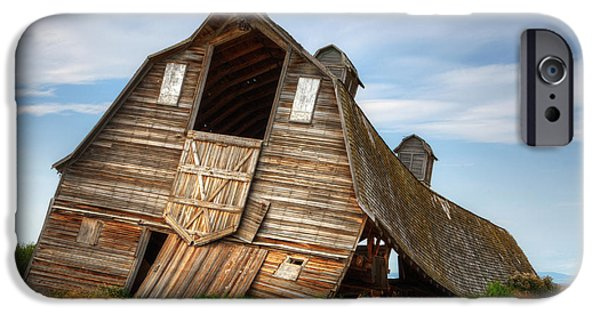 Old Barns iPhone Cases - The Beauty Of Barns  iPhone Case by Bob Christopher