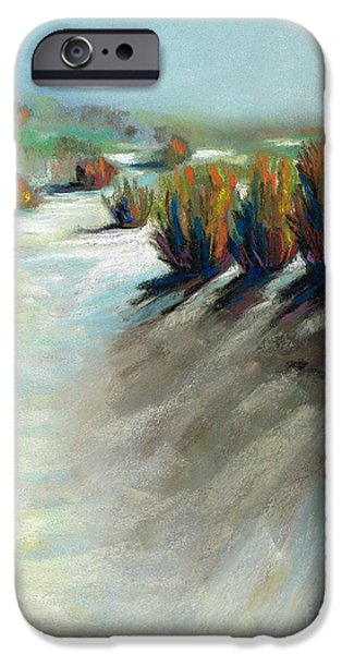River Pastels iPhone Cases - The Beauty Of Being Washed Out iPhone Case by Frances Marino