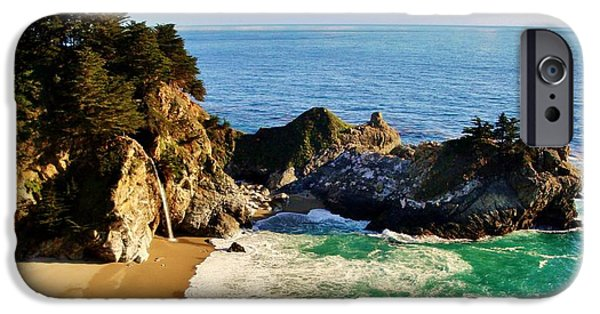 Seacapes iPhone Cases - The Beauty of Big Sur iPhone Case by Benjamin Yeager