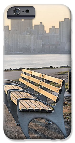 The Bench iPhone Case by JC Findley